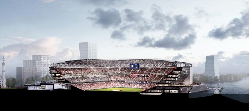 definitief ontwerp nieuw stadion