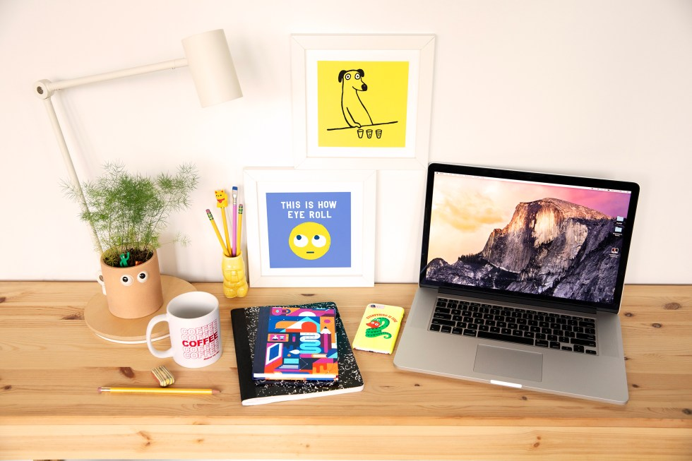 Creative decor - desk