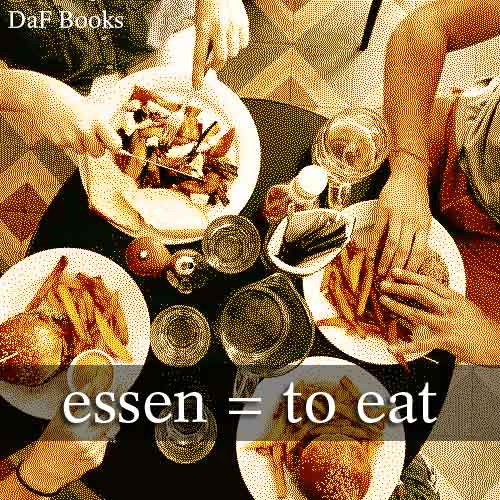 essen - to eat: DaF Books vocabulary list