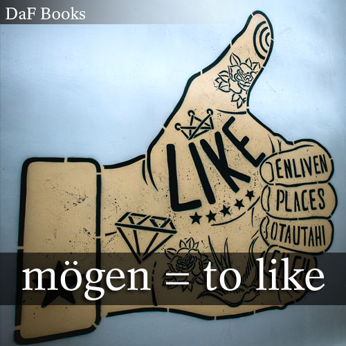 mögen - to like: DaF Books vocabulary list