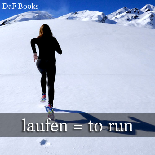 laufen - to run: DaF Books vocabulary list