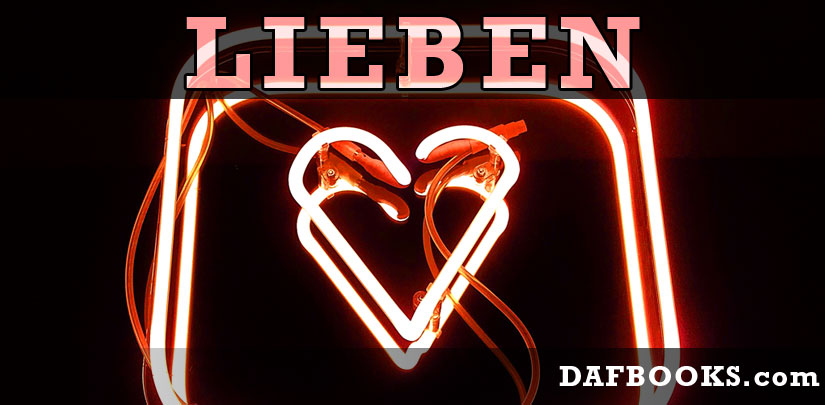 Lieben - to love - DAFBOOKS
