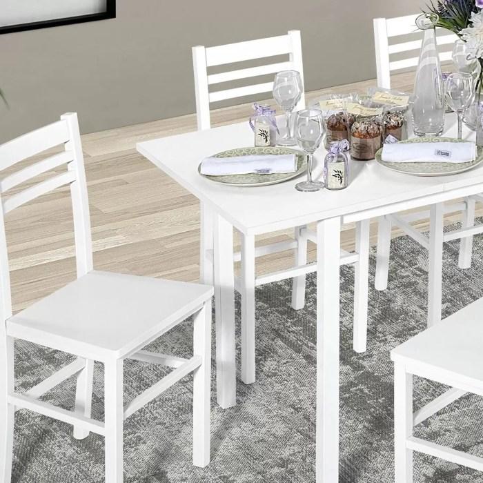 Set tavoli con sedie