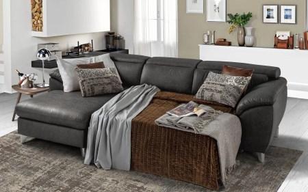 divano letto nero