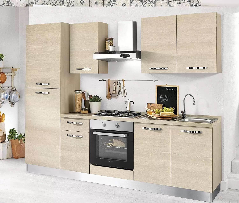 kitchen aid wall oven pull up cabinets dafnedesign com 完整厨房 comp sx cm 255 x 60 216h 排气罩 通风烤箱 水槽 冰箱 带4炉灶的燃气灶具 n 6门和一个抽屉 dafne design