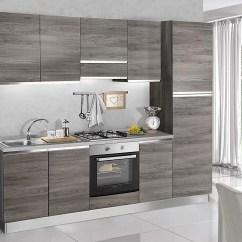 Complete Kitchen 3 Piece Bistro Set Dafnedesign Com 完整的厨房 右侧厘米 255x60x216h 包括 罩 通风炉 水槽 冰箱 冰柜 炉灶燃气灶4 N 6旋转门和抽屉 Dafne Design