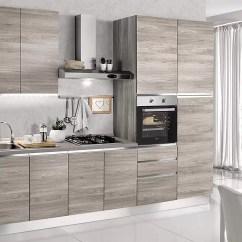 Complete Kitchen Building Wall Cabinets Dafnedesign Com 完整的厨房 右侧厘米 300x60x240h 包括 引擎盖 通风烤箱 水槽 冰箱 带4炉灶的燃气灶具 N 9铰链门和3抽屉 Dafne Design