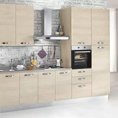 Kitchen Aid Wall Oven Concrete Table Dafnedesign Com 完整的厨房 右侧厘米 厘米 300x60x240h 油烟机 带罩 通风烤箱 水槽 冰箱 带4炉灶的燃气灶具 N 9铰链门和n 3抽屉