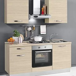 Kitchen Aid Products Copper Items Dafnedesign Com 经济厨房 左组成厘米 180 60 X 216h 包括 罩 引擎盖 风扇烤箱 水槽 带4炉灶的燃气灶具 N 4铰链门和抽屉