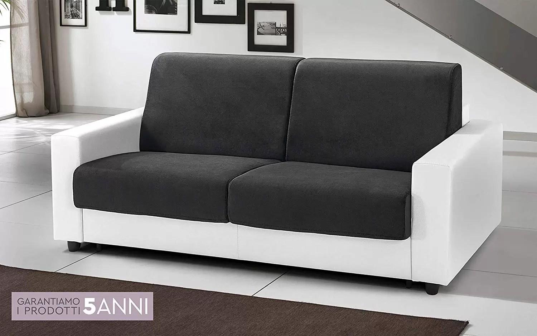 Divano Letto Bianco E Nero : Divano letto bianco semplice divano bianco e grigio mondo