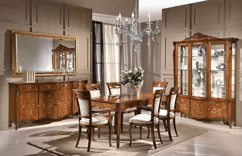 Set sala da pranzo e soggiorno, composto da 1 Tavolo ...
