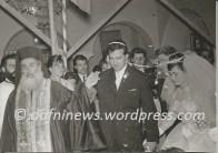 Αγία Βαρβάρα. Γάμος το έτος 1964 με τον π. Νικόλαο Καλορίζο, (Πάτερ Νικόλα)