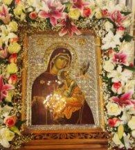 13.4.2015 Εορτασμός Ιερού Ναού Αγίας Βαρβάρας Δάφνης, προς τιμή της Παναγίας της Φοβεράς Προστασίας