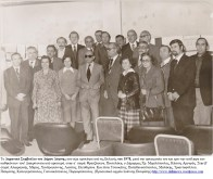 Το Δημοτικό Συμβούλιο του Δήμου Δάφνης που είχε προκύψει από τις Εκλογές του 1978, μετά την ορκομωσία του και πριν την ανάληψη των καθηκόντων του! Διακρίνονται από αριστερά, στην α' σειρά: Φρατζέσκου, Παντελάκη, ο Δήμαρχος Χρ. Μιχαλόπουλος, Κάσση, Αργυρός. Στην β' σειρά: Αλιφραγκής, Μάρας, Χονδρογιάννης, Λιούτας, Ελευθερίου. Και πίσω Τσουκάτος, Παπαθανασόπουλος, Μαλάκης, Τριανταφύλλου, Πισιμίσης, Καλογερόπουλος, Γιαννακόπουλος, Πορφυρόπουλος. (Προσωπικό αρχείο Ιωάννη Πισιμίση) http://www.dafninews.wordpress.com