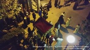 Αγία Βαρβάρα Δάφνης. Λιτάνευση 4.12.2016 επί της οδού Αρκαδίου