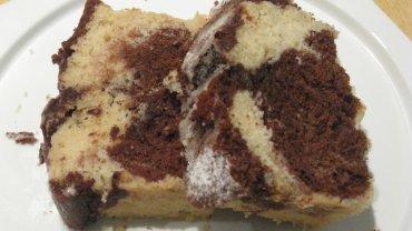 עוגת שיש הכי קלה והכי טעימה