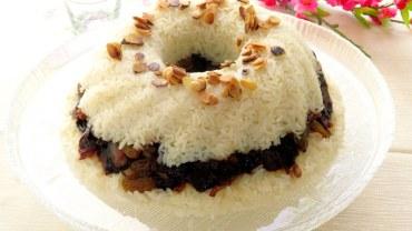 אורז חגיגי עם טנזיה ושקדים