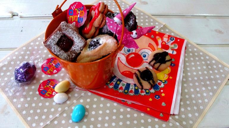 עוגיות בפריכות נפלאה בצק אחד שלושה טעמים