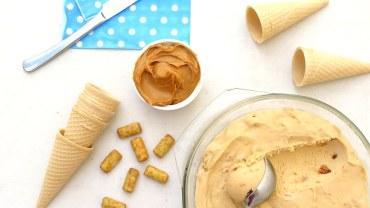 גלידת במבה מעלפת מ-4 מרכיבים בלבד