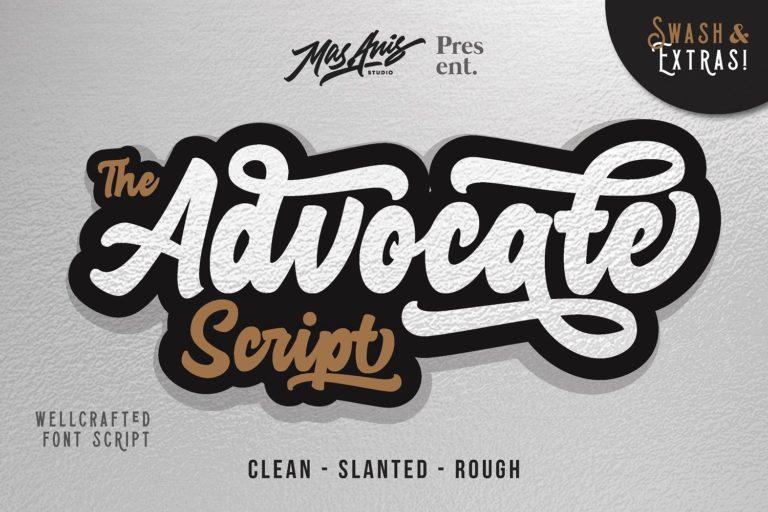 advocate-script-font-768x512