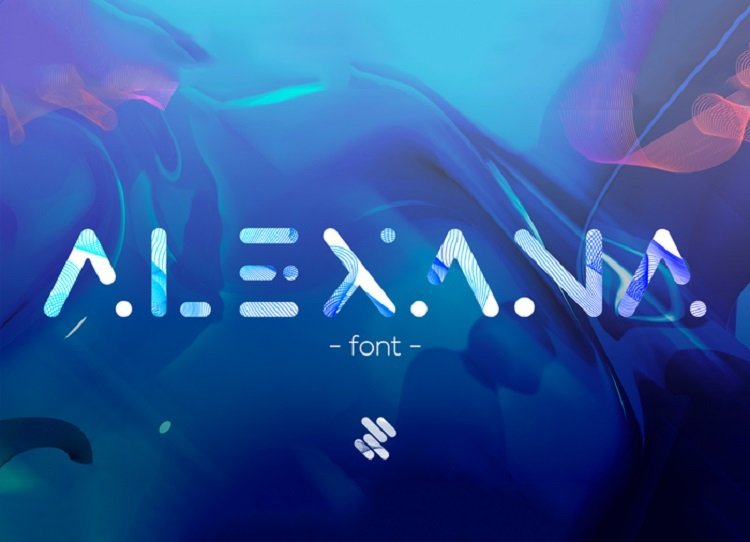 alexana-free-font