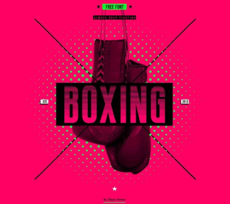 boxing-font