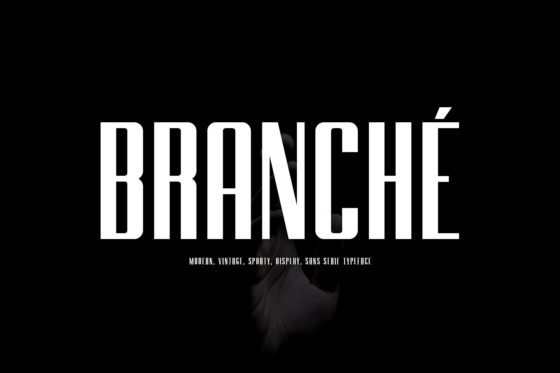 branche-typeface