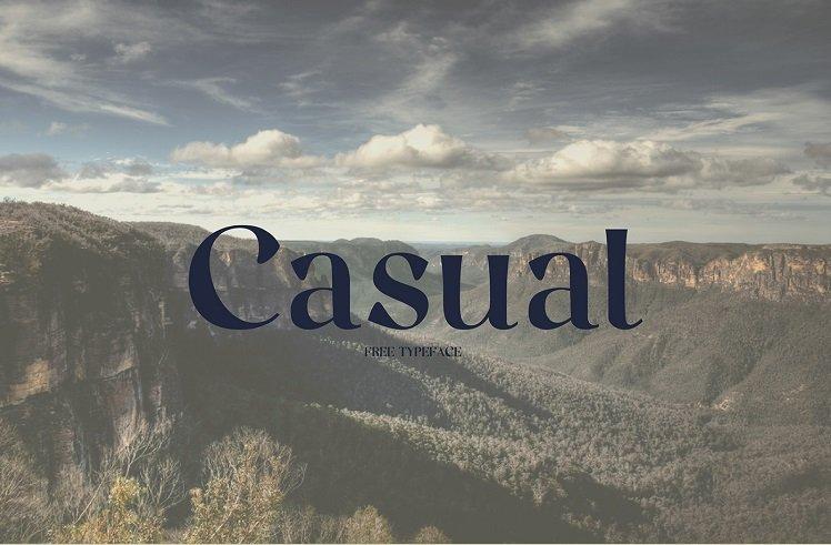casual-font