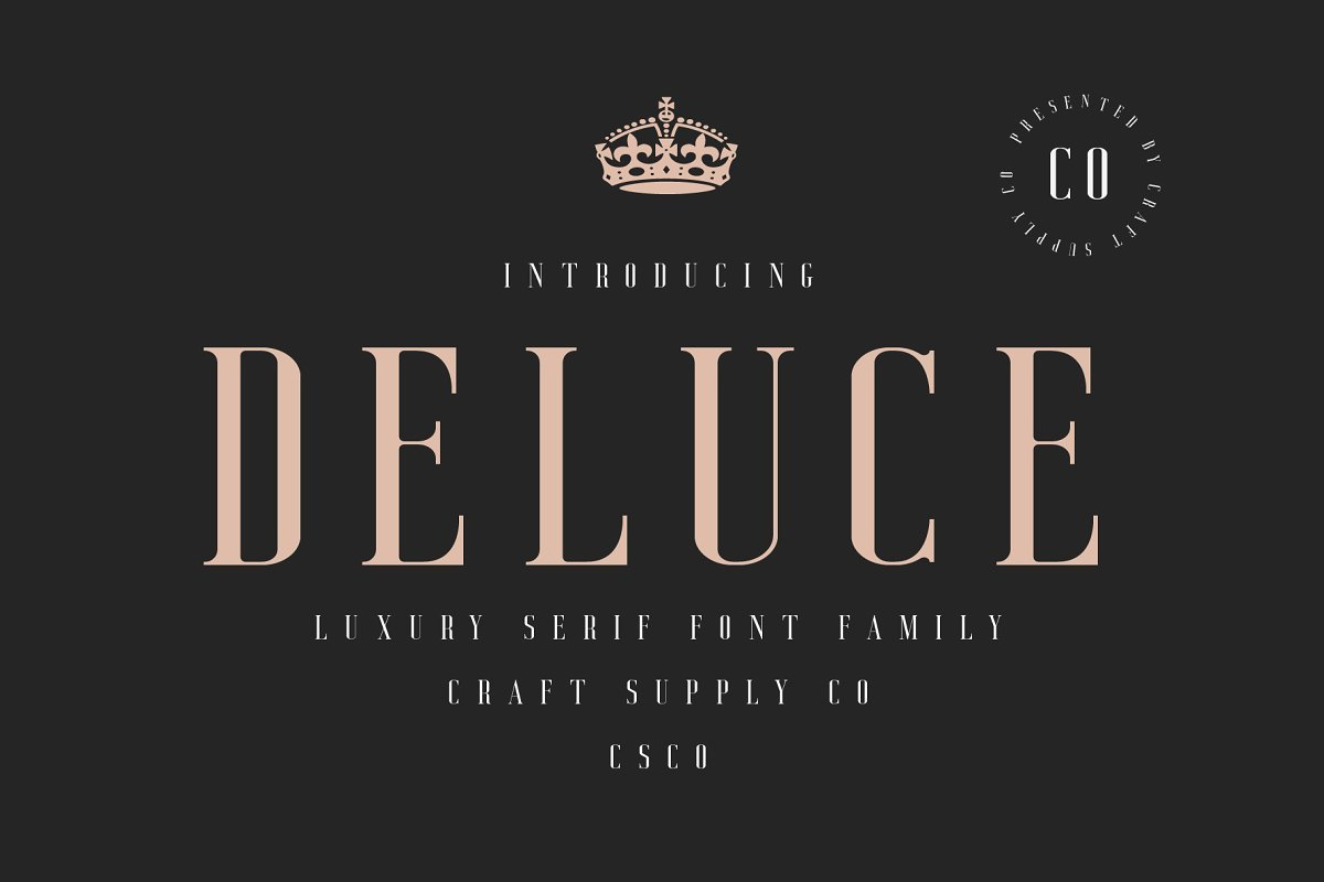 deluce-serif-font