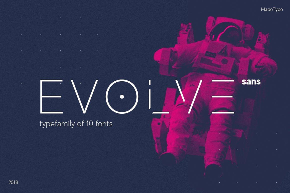 made-evolve-sans-font-family