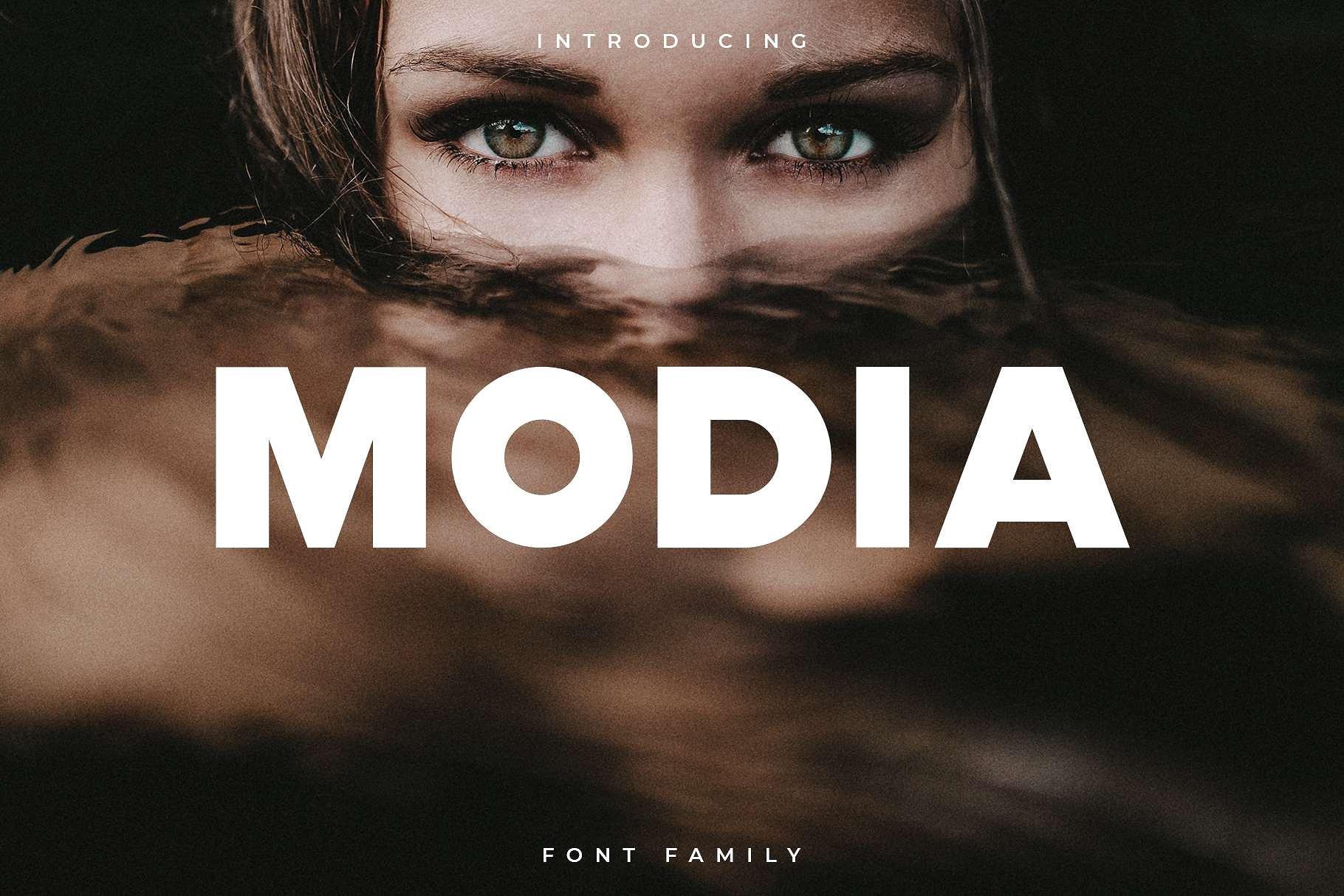 modia-font-family