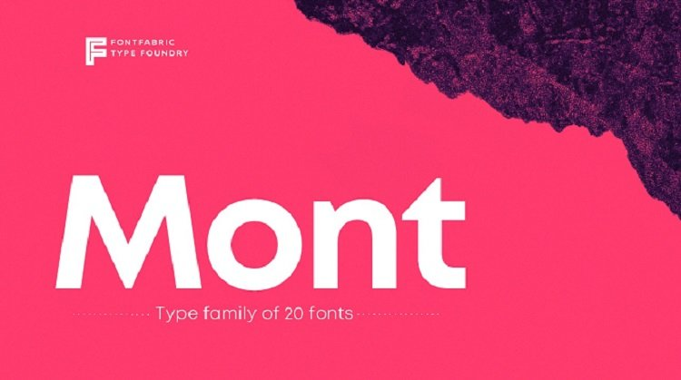 mont-font-family