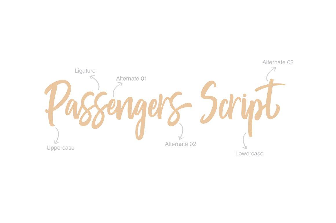 passengers-script-font-3