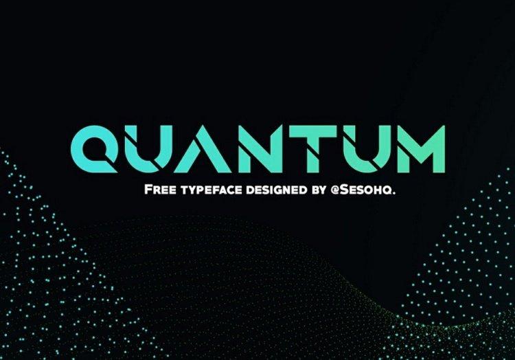 quantum-free-typeface