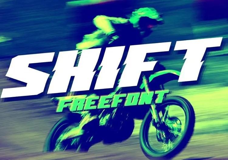 shift-free-fontshift-free-fontshift-font