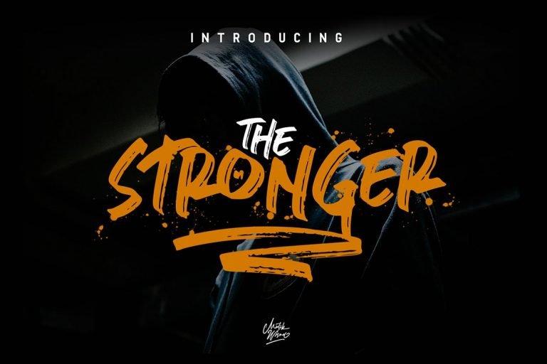 stronger-brush-font-768x512