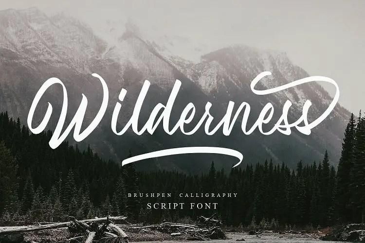 wilderness-font
