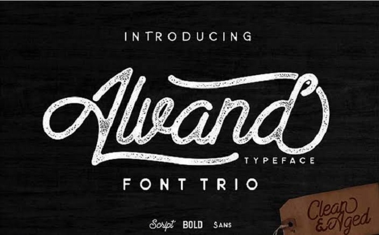 Alvand Font Family Free
