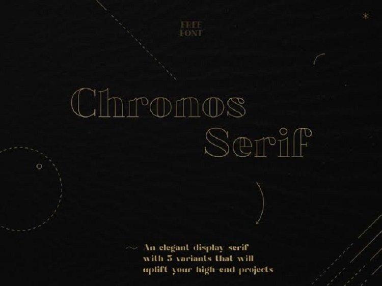 Chronos Serif Free Font