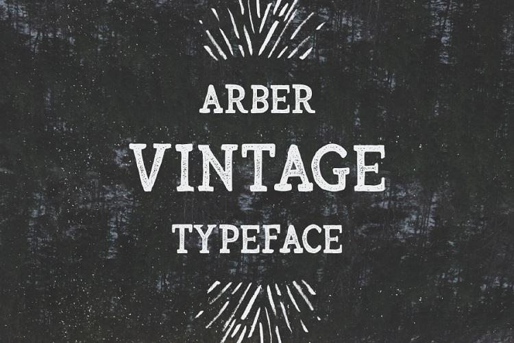arber-vintage-font-1