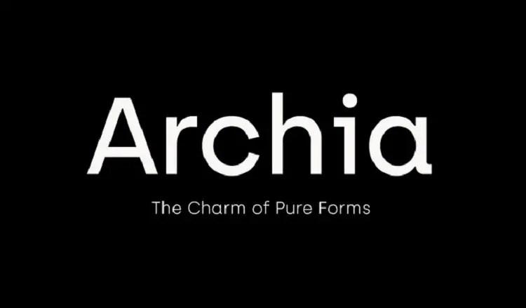 archia-typeface