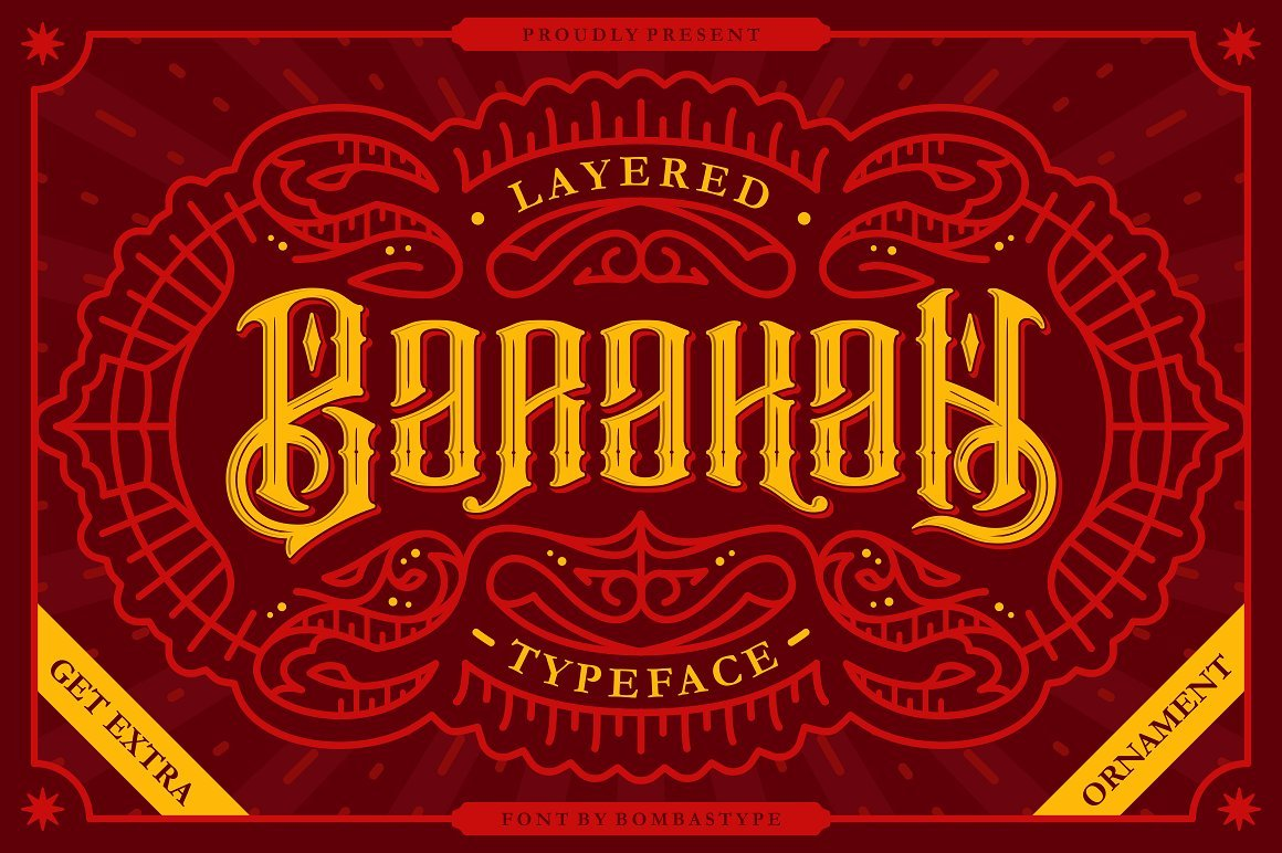 barakah-layered-typeface