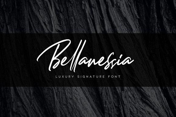 bellanessia-signature-font-1