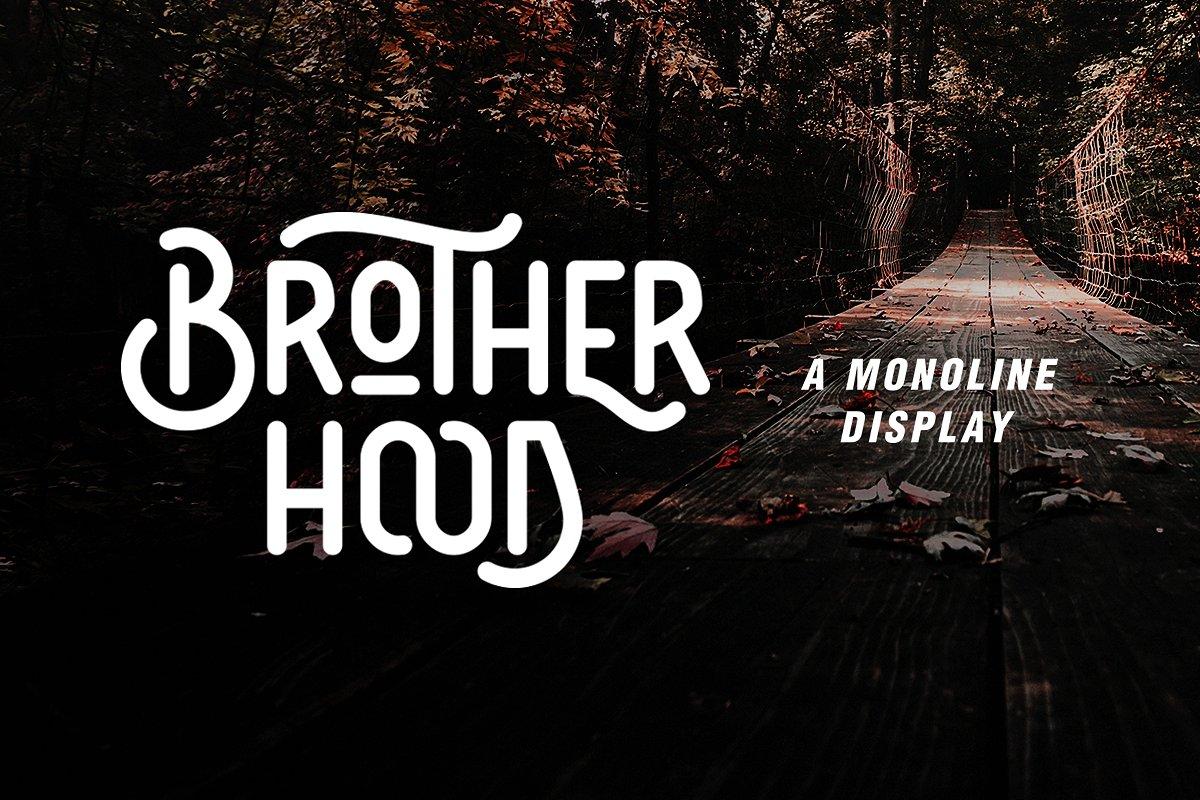 brotherhood-display-font