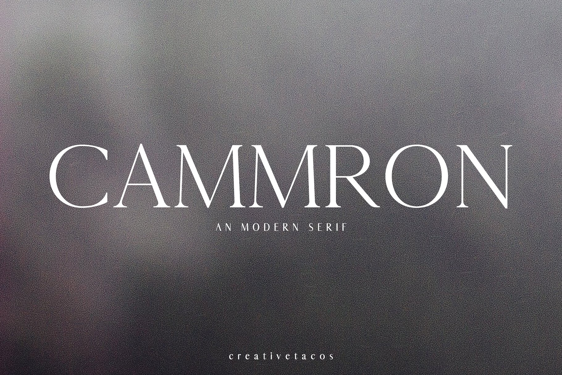cammron-font-family