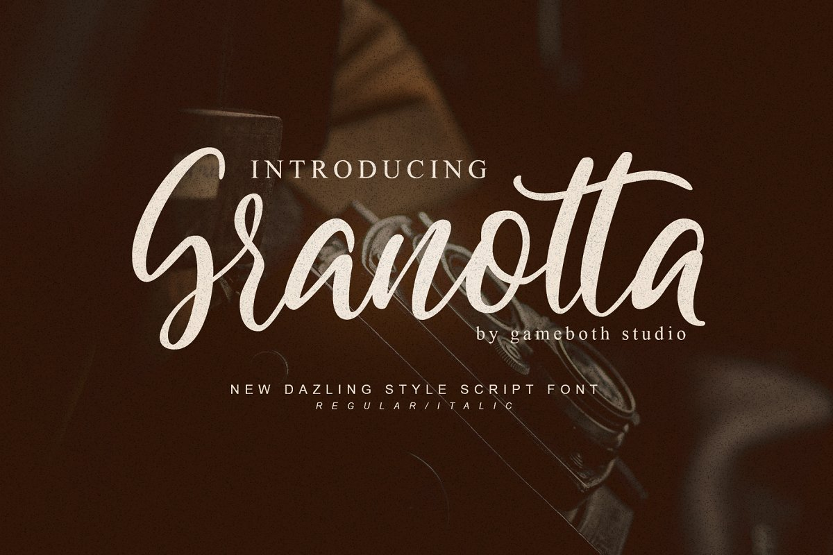 granotta-script-font