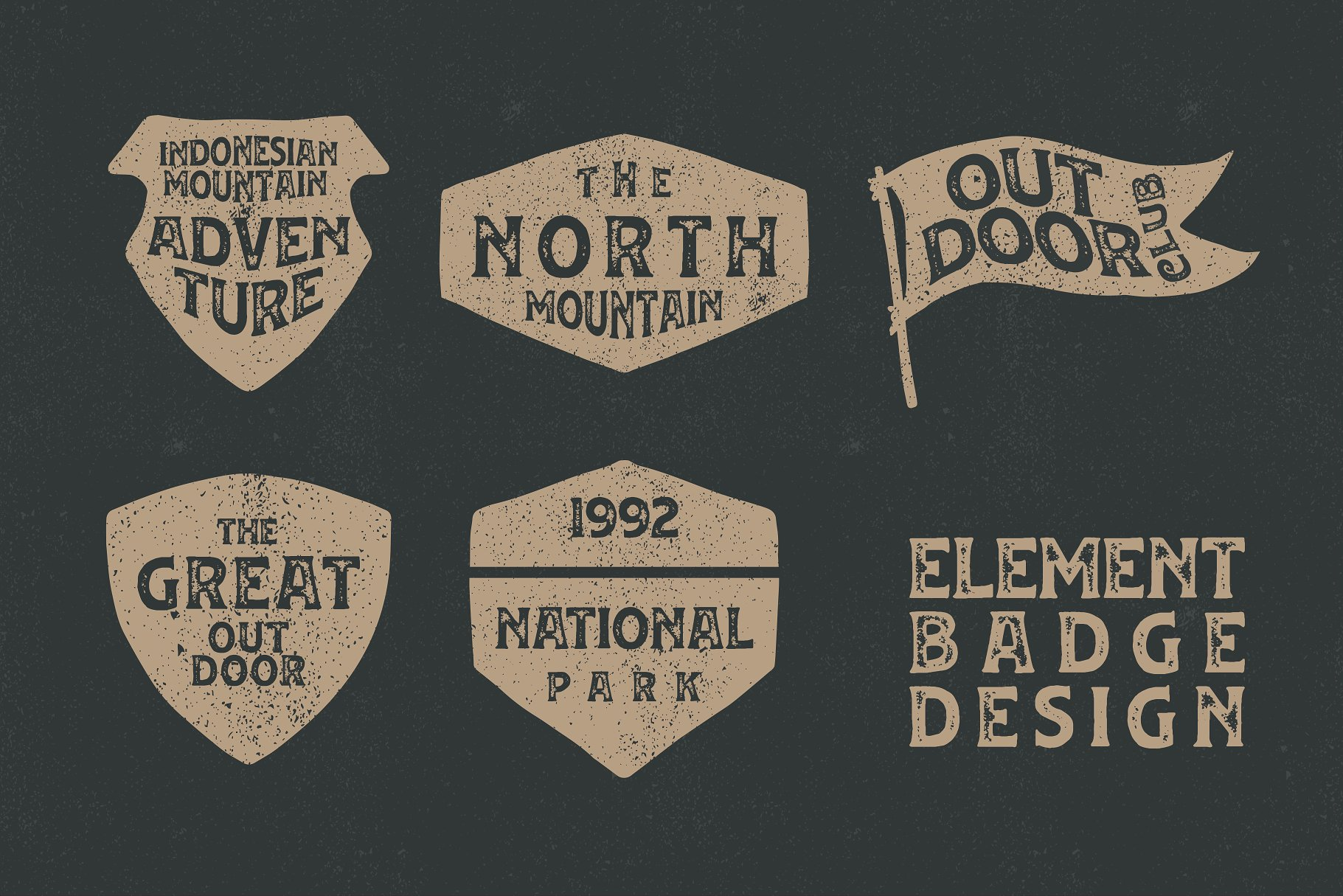 huvet-vintage-font-3