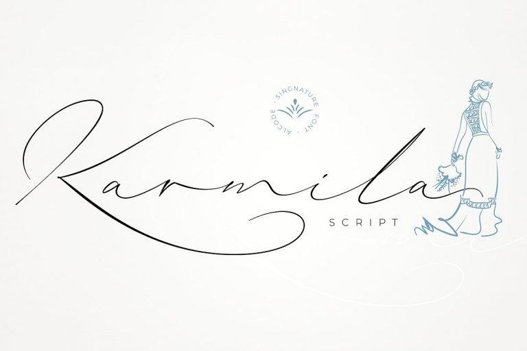 karmila-signature-font-768x512