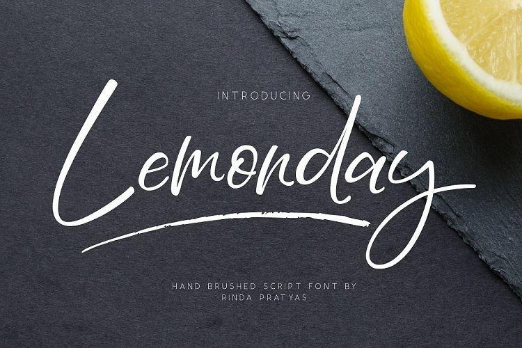 lemonday-script-font