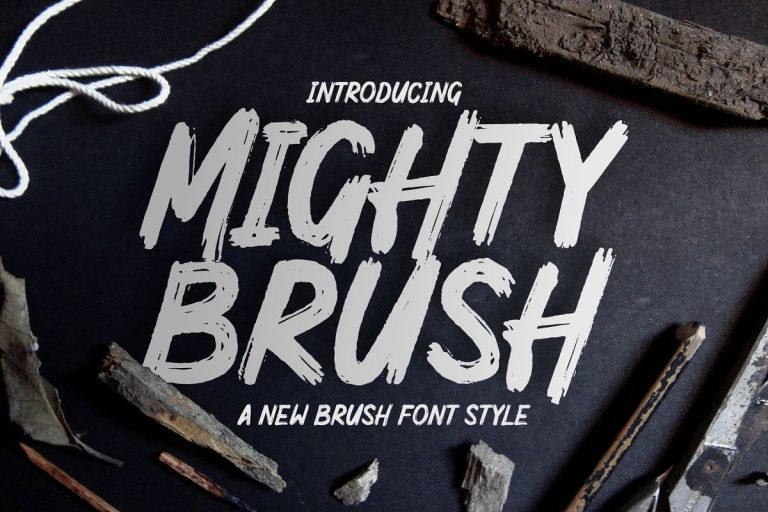 mighty-brush-font-768x512